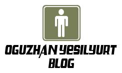 Oğuzhan Yeşilyurt Blog