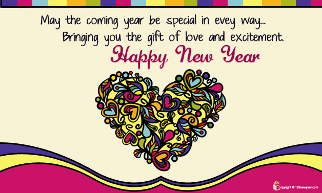Happy New Year 2014 Wishes Greeting Cards