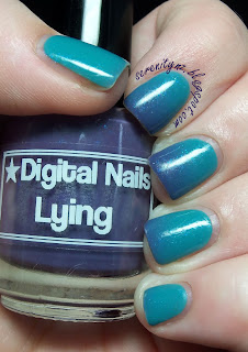 Digital Nails Lying
