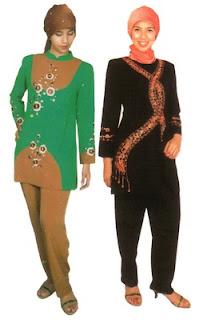 Trend Model Pakaian Muslim 2012 (Pria-Wanita)