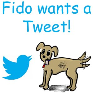 Candace and Fido on Twitter