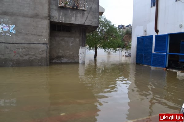 Gaza is sinking because of rain with high intensity 4 days ago