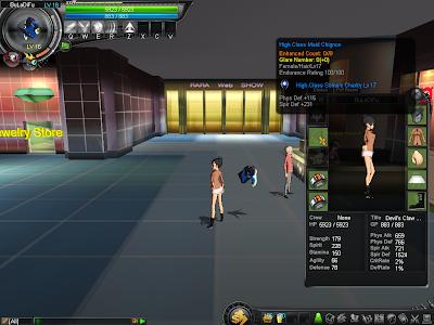 GhostX Ultimate - Maid Chignon With Level 17 Soma