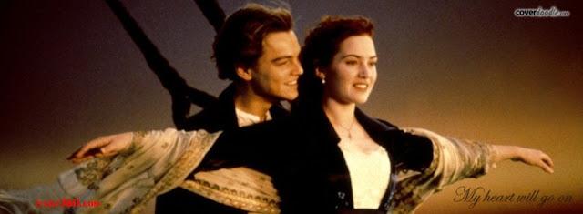 Ảnh bìa lãng mạn cho Facebook - Cover FB romantic timeline, cover film titanic