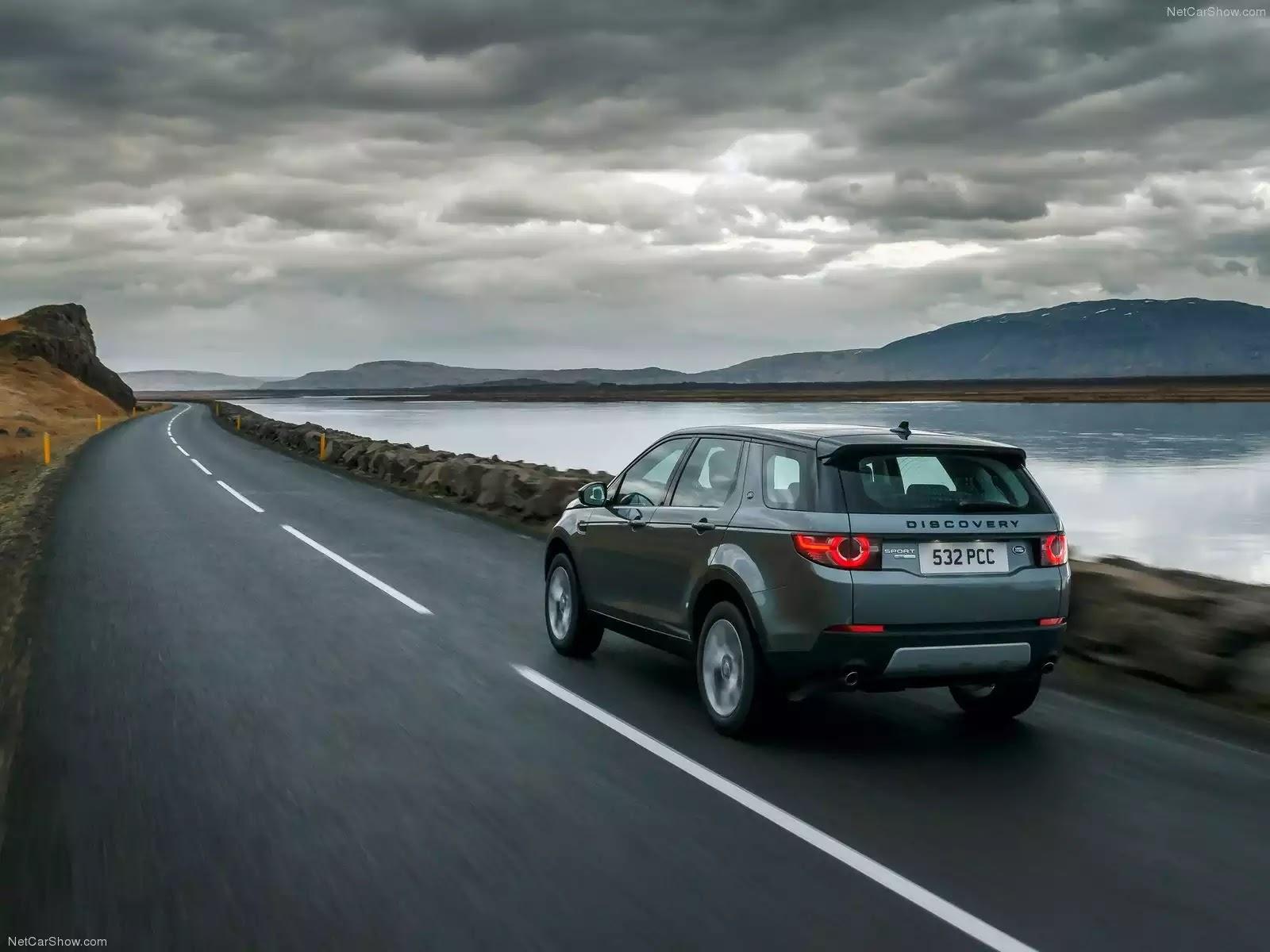 Hình ảnh xe ô tô Land Rover Discovery Sport 2015 & nội ngoại thất