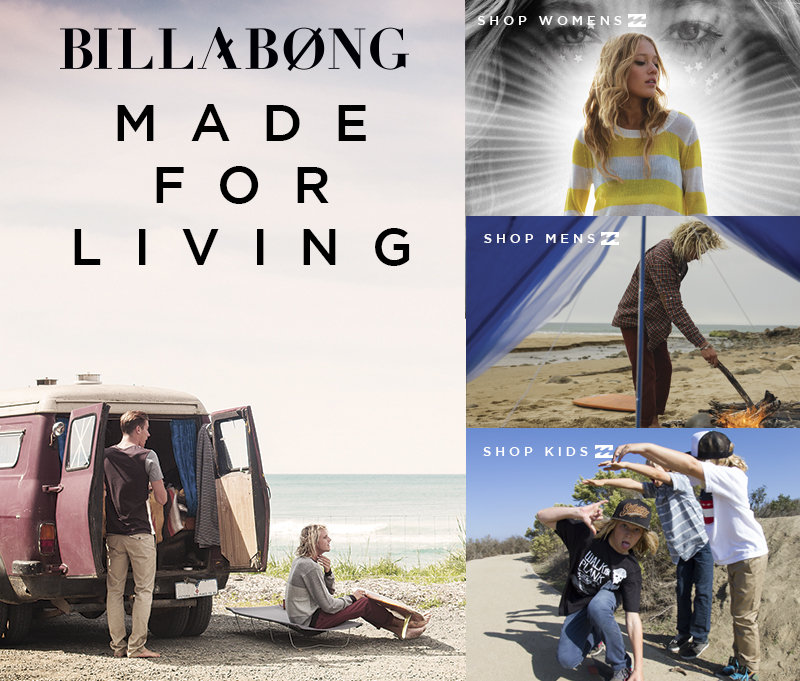 At Billabong we are driven by the desire to Inspire Youth.