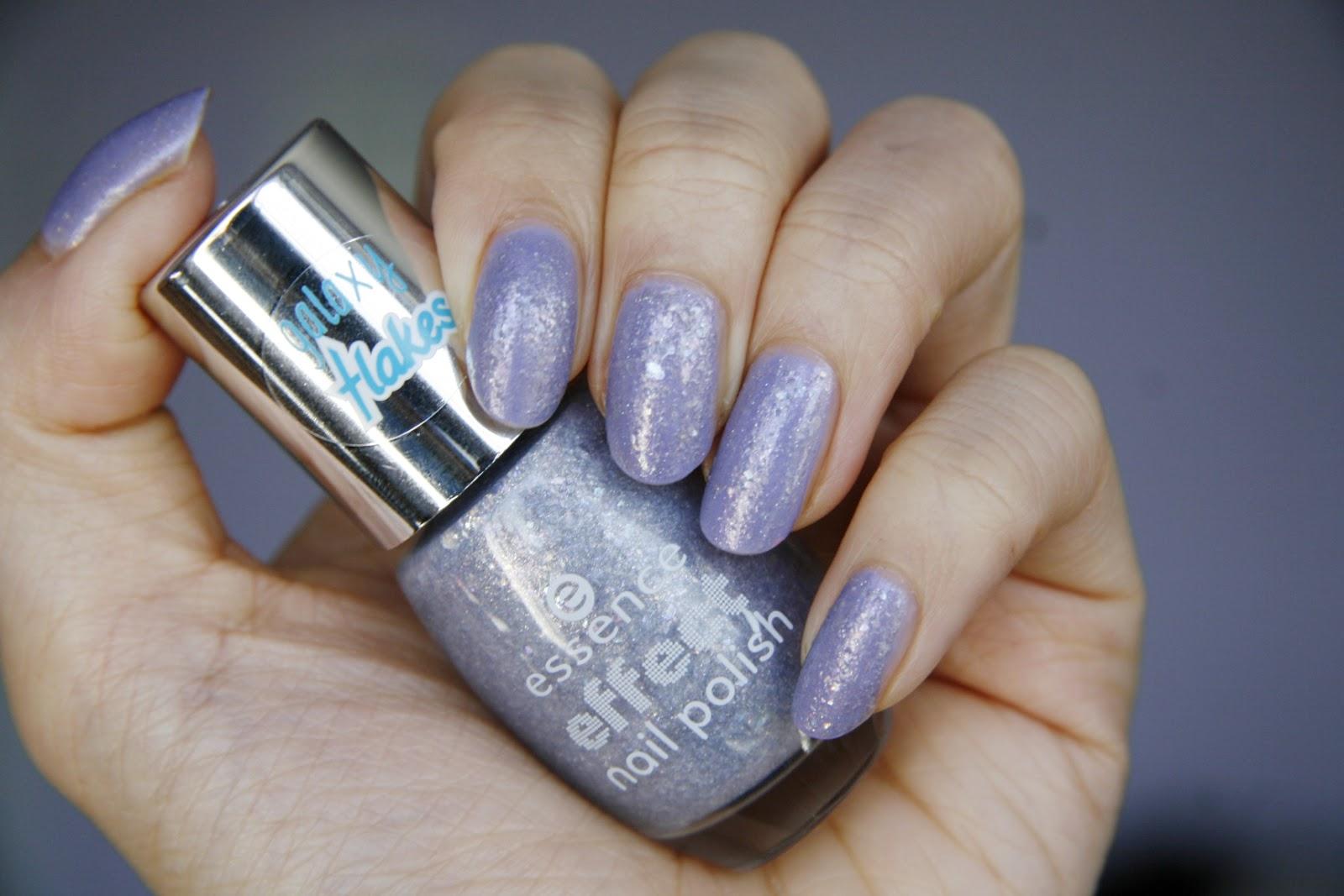 fun size beauty: essence Galaxy Flakes Effect Nail Polish in Rock My ...