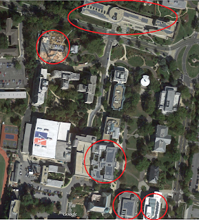 Map of Solar at American University