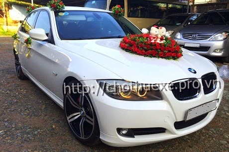 Cho thuê xe cưới BMW 320i - xe hạng sang Đức Vinh Trans 1
