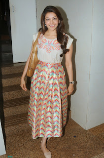 Actress Kajal Agarwal Latest Pictures at Felicitate Chidren NGO Alert India 8