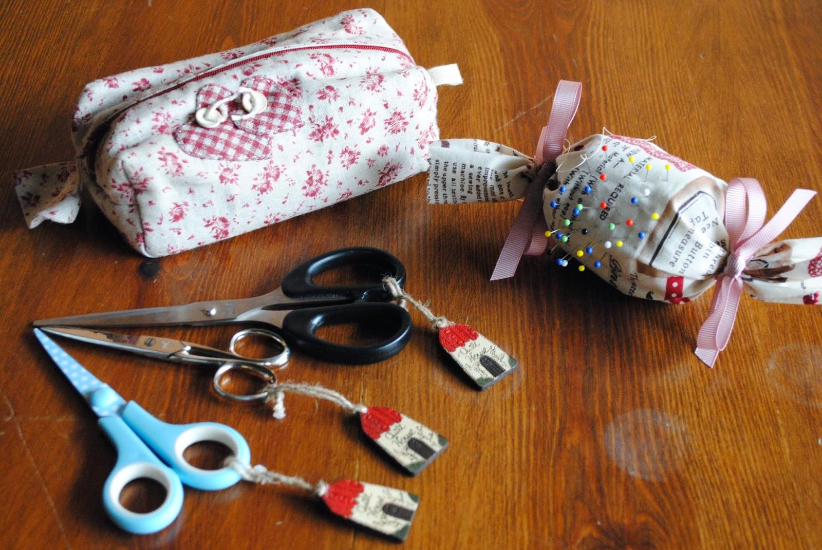 Associaci puigcerd patchwork set de costura - Set de costura ...