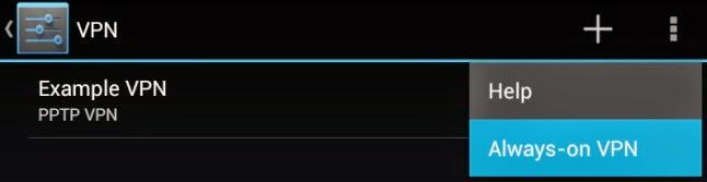 Cara setting dan Menggunakan VPN Di Android h