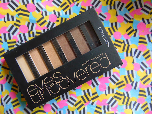 7 days 7 palettes Collection eyes uncovered palette