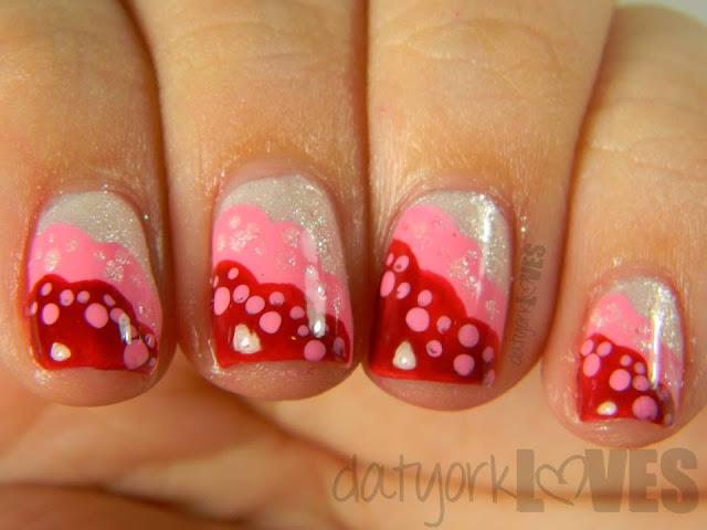 Dahlia's Lace manicure