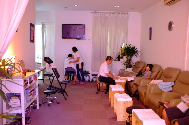 feet haven - line of foot reflexology chairs