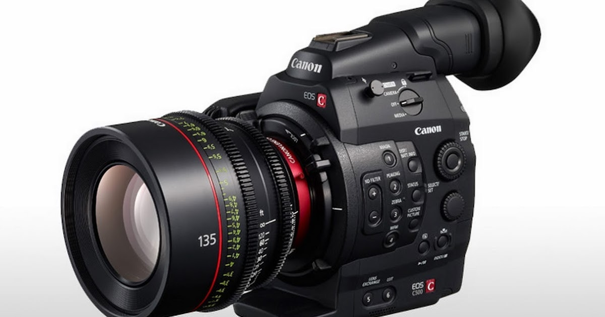 Canon C500 (PL Mount) 4K Camera