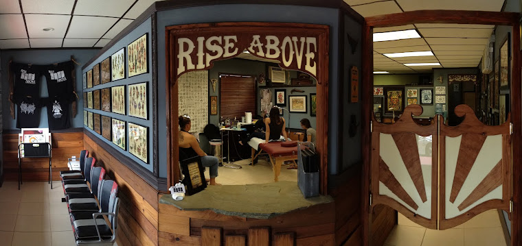 rise above tattoo
