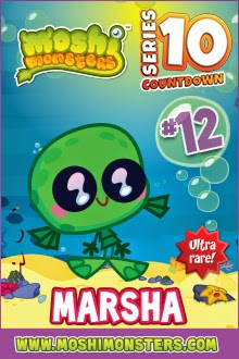 Moshi Monsters Series 10 count down, Summer 2014 new moshlings, Moshi Monsters figurines