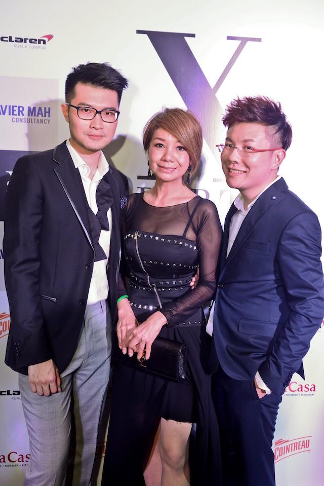 Alfred Hor, Datin Winnie Loo and Xavier Mah