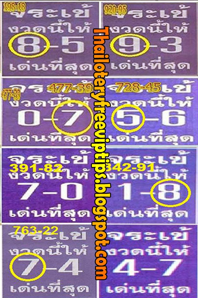 Thai lottery Best Touch tips 16-09-2014