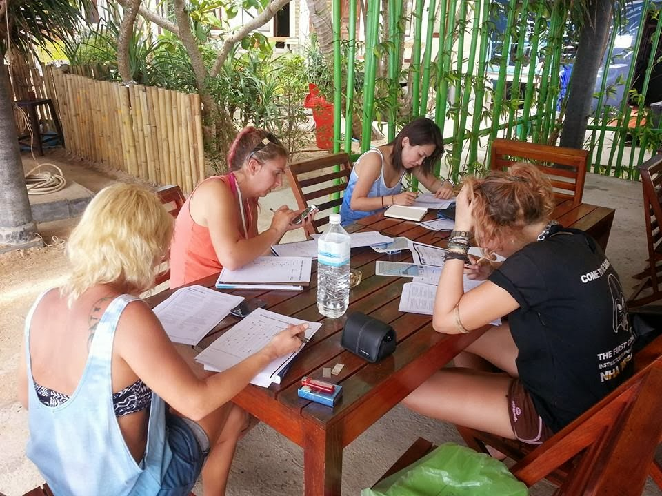IDC Theory Class at Amantra Resort, Koh Lanta, Krabi