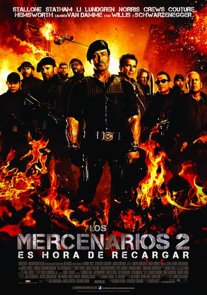 Los mercenarios 2 / The Expendables 2 (2012)