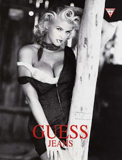 anna nicole smith smoking
