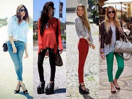 Calças Jeans Femininas Fotos Modelos 5 Calças Jeans Femininas Fotos Modelos