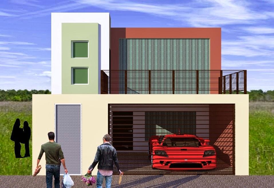 Fachadas y casas casas sencillas y modernas for Fachadas bonitas y modernas