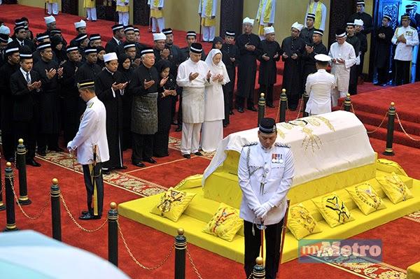 Gambar Sekitar Pengkebumian Al-Marhum DYMM Sultan Perak