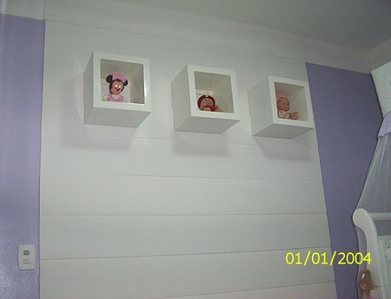 Quarto De Bebe Com Nicho Na Parede ~ TRIO DESIGNER Nichos nas paredes
