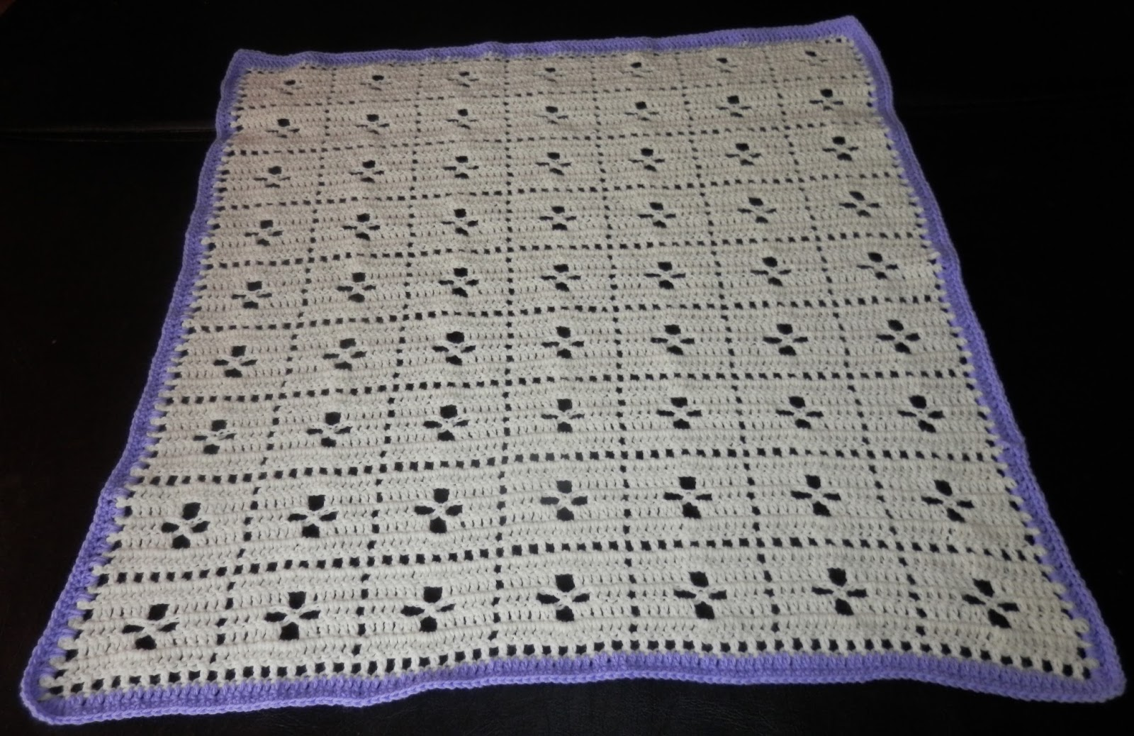 Karens Crocheted Garden of Colors: Call The Midwife Baby Blanket