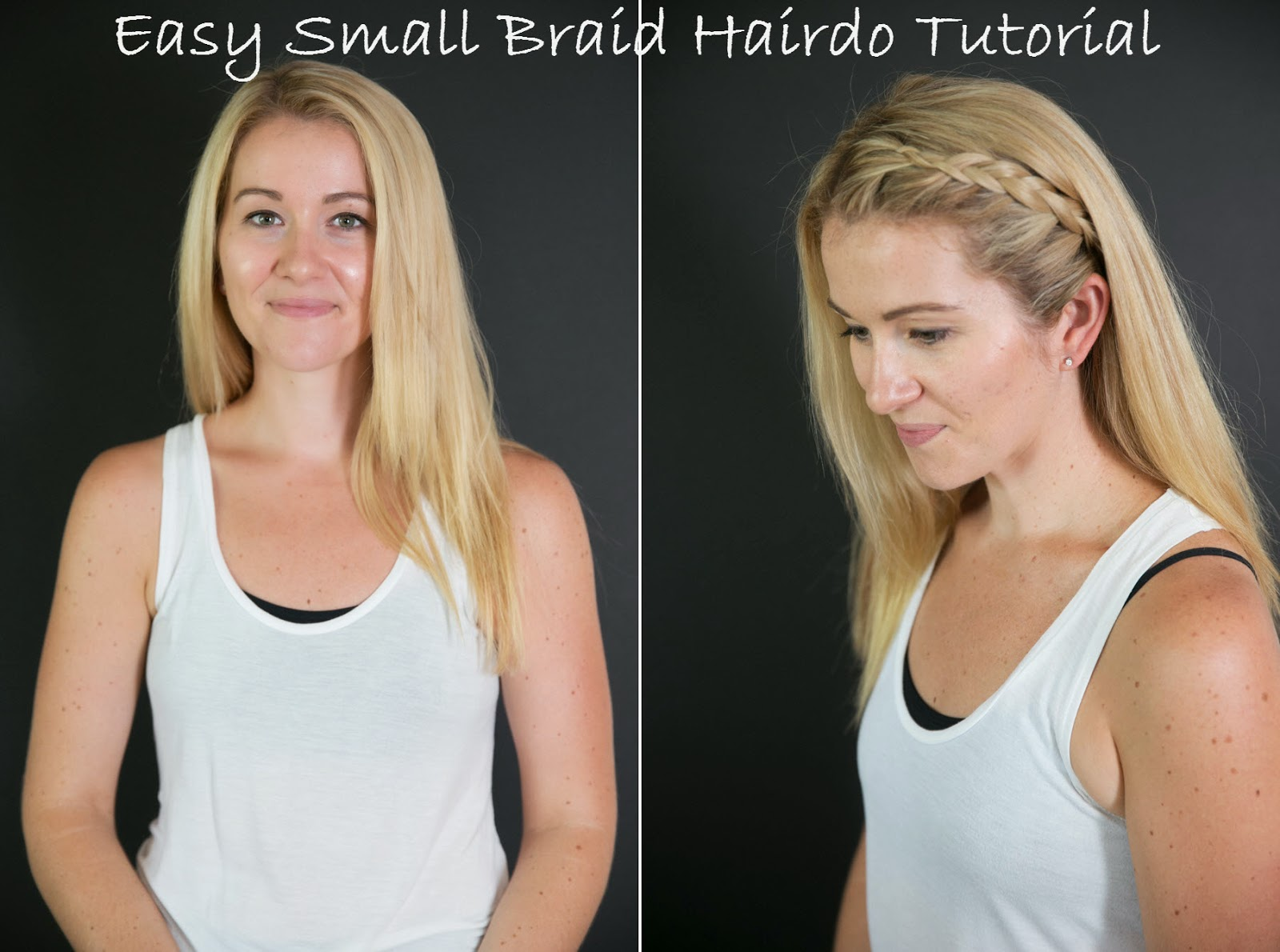 Easy Small Braided Hairdo Tutorial | Luci's Morsels