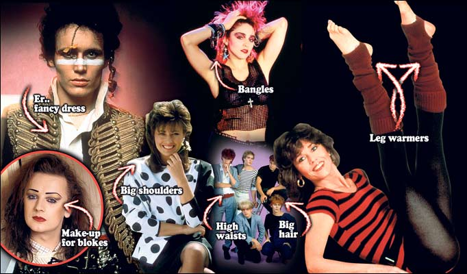 am2407 researching american culture iconic 80 s image fashion