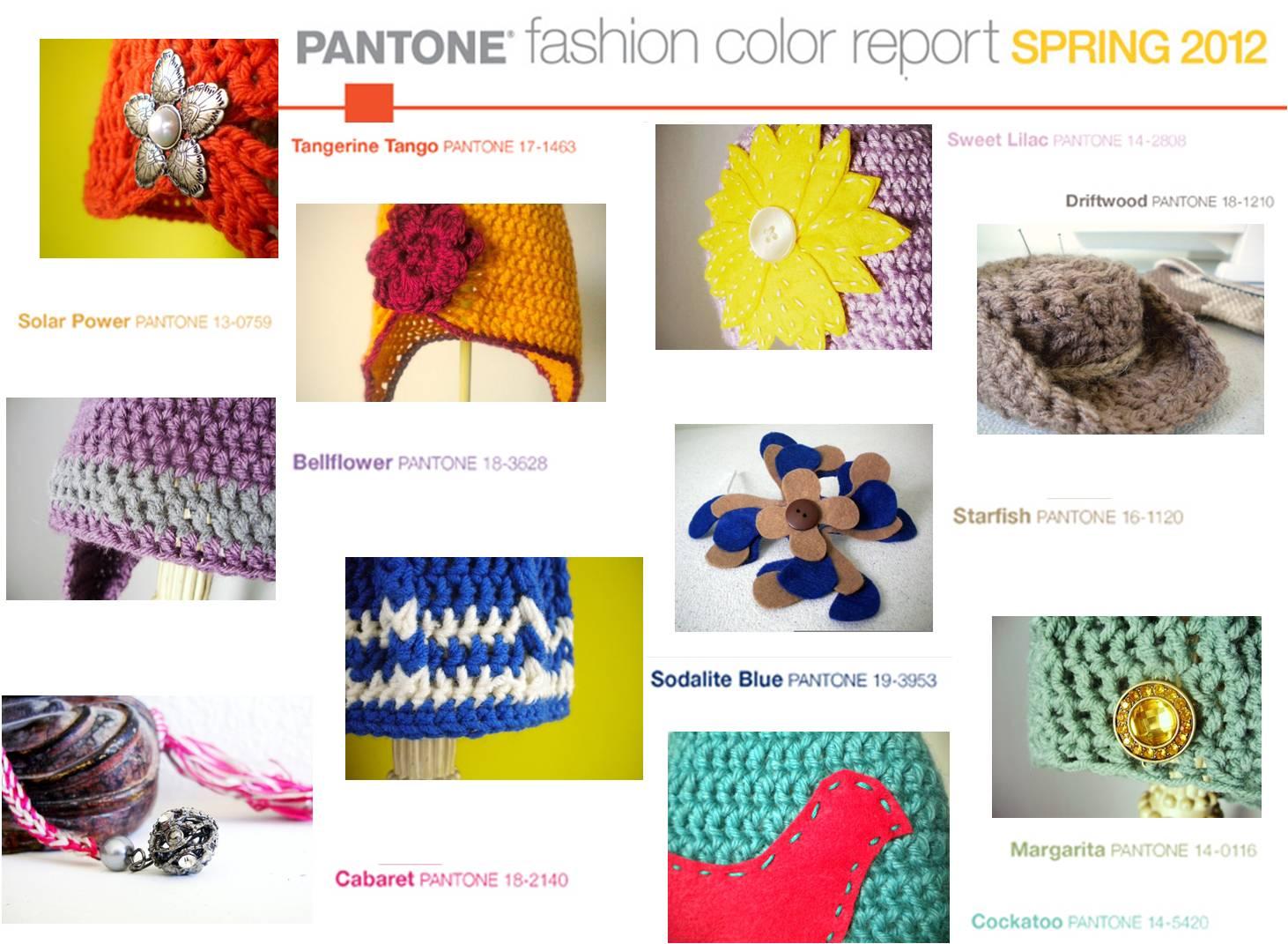 Boho In The 39 Burbs Pantone Colors 2012