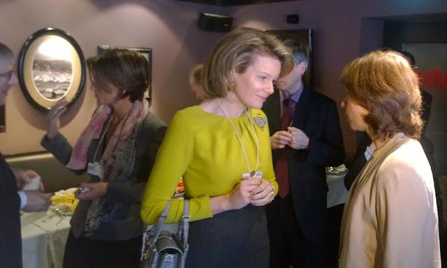 King Philippe and Queen Mathilde - World Economic Forum - Davos - Switzerland