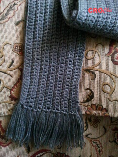 Crochet In Egypt Scarf For Men And Women 2
