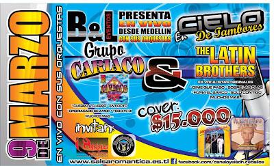 ► Grupo Cariaco & The Latin Brothers En Bogotá