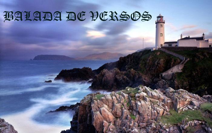 BALADA DE VERSOS