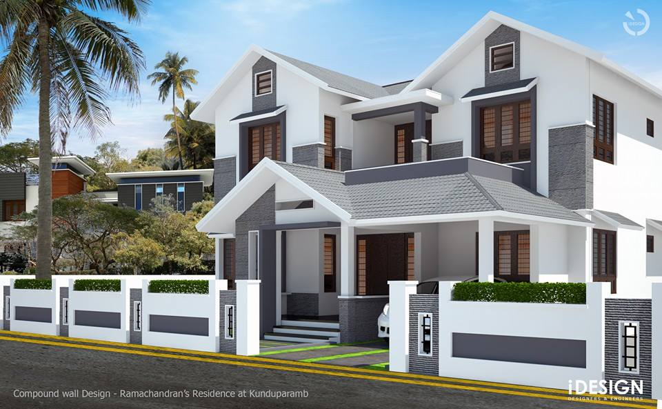 Idesign Calicut Compound Wall Concept