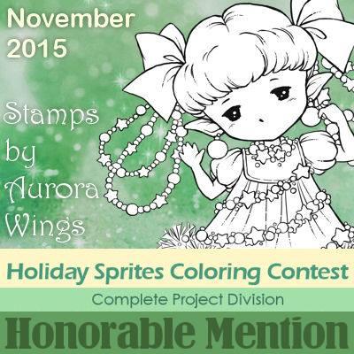 November Colouring Challenge