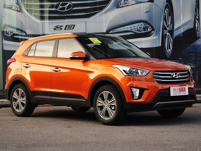 New Unveiled Hyundai Creta IX25 In India 2015