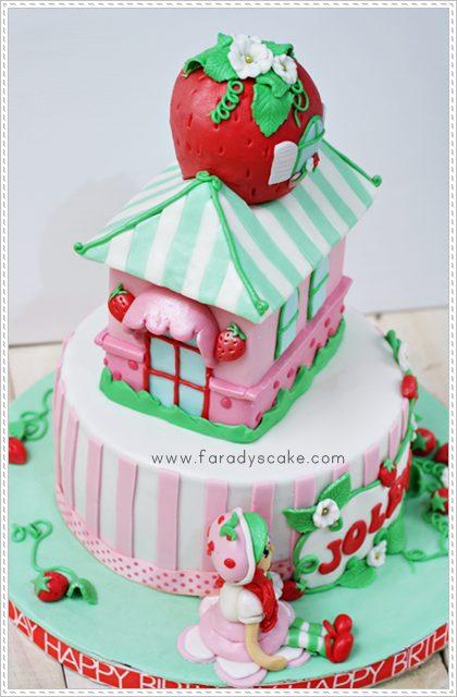 Strawberry Shortcake Birthday Cake Images
