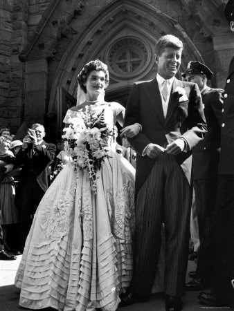 Books, Birkins and Beauty: Jacqueline Kennedy\'s wedding dresses