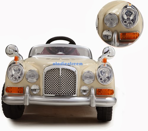 Chi tiết xe ô tô điện trẻ em JE128 hình1