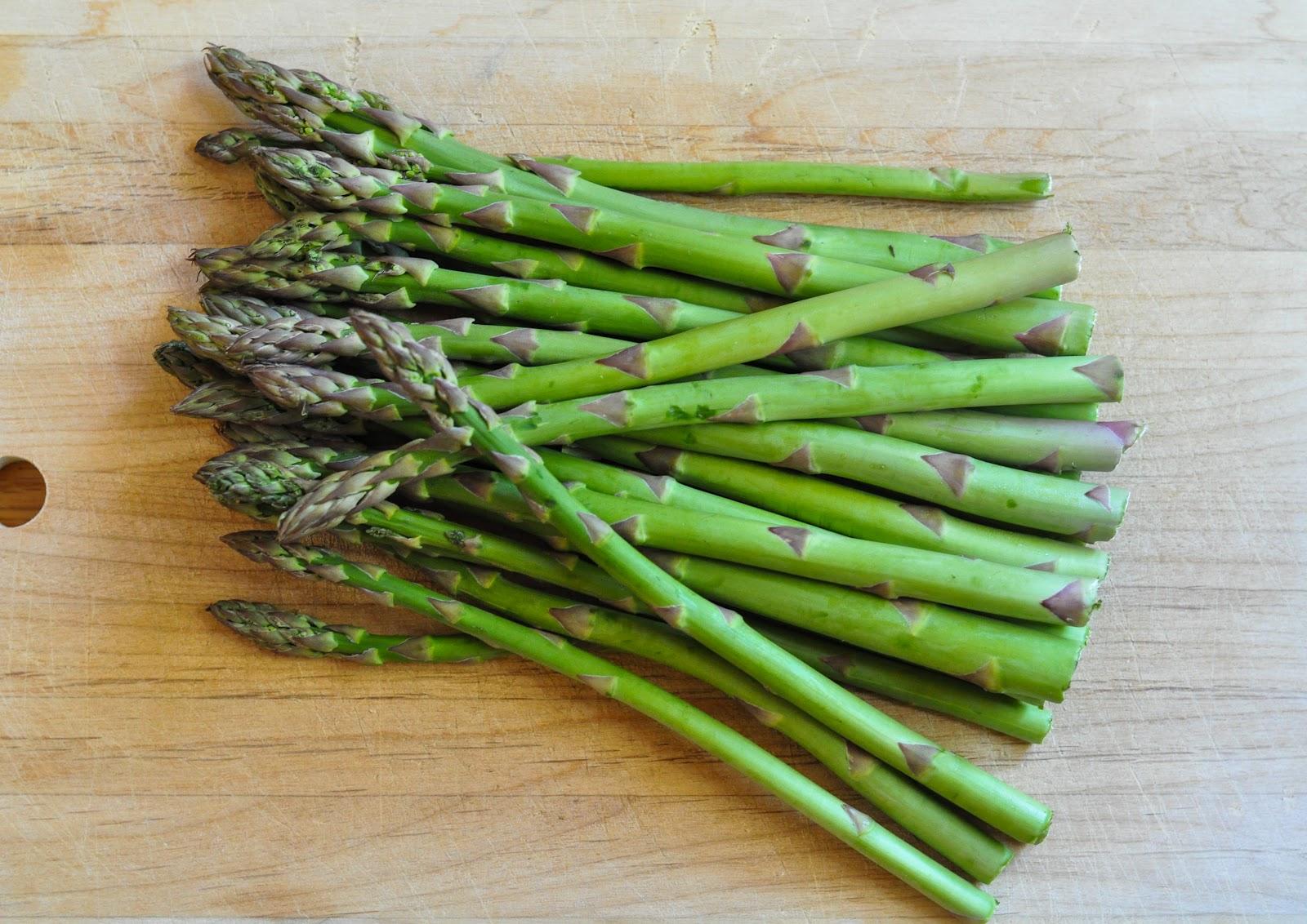 roasted asparagus - Marin Mama Cooks