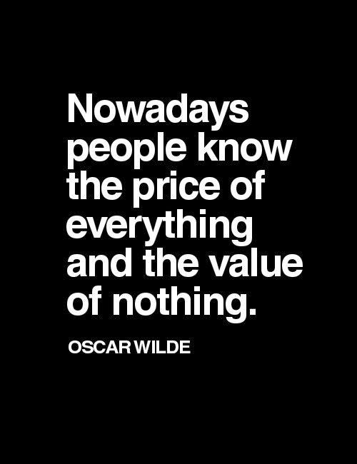 Lucrurile valoareaza atat cat le facem noi sa valoreze