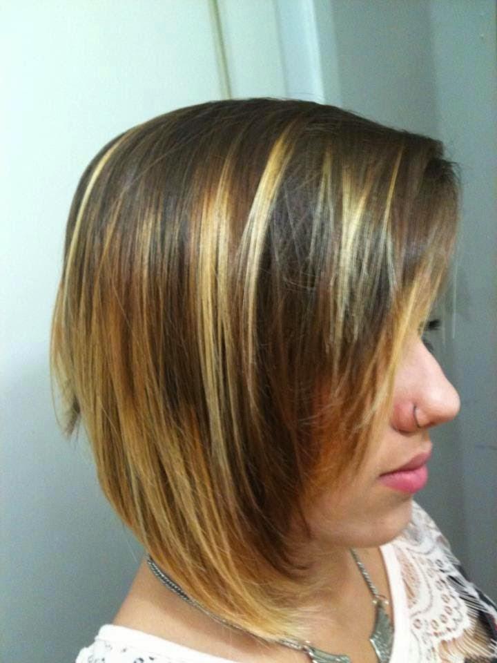 cabelo curto belas luzes