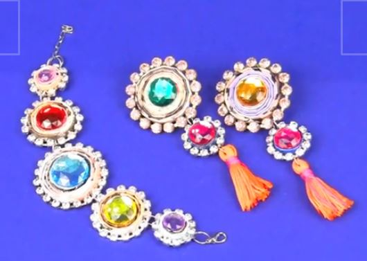 Beautiful Paper Bead And Rhinestone Jewelry Tutorial The Beading Gem S Journal