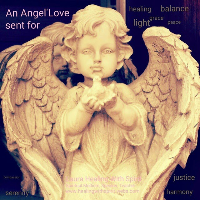 An Angel's Love by Laura Healing With Spirit. All Rights Reserved